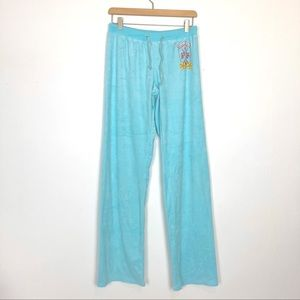 Deadstock y2k Juicy Couture terrycloth track pants
